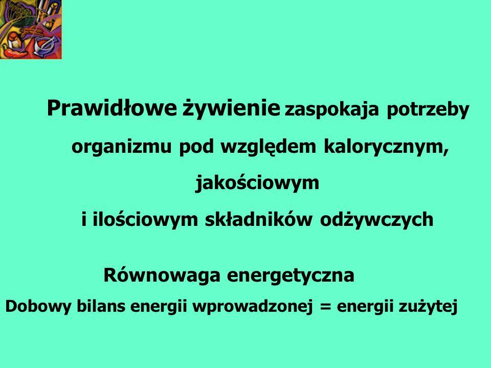 Równowaga przemiany azotowej RÓWNOWAGA PRZEMIANY AZOTOWEJ = ilość azotu wprowadzanego z pokarmem = ilości azotu wydalanego z moczem, kałem i potem Minimum białkowe = 1g białka mieszanego (zwierzęce i roślinne/1kg mc/dobę