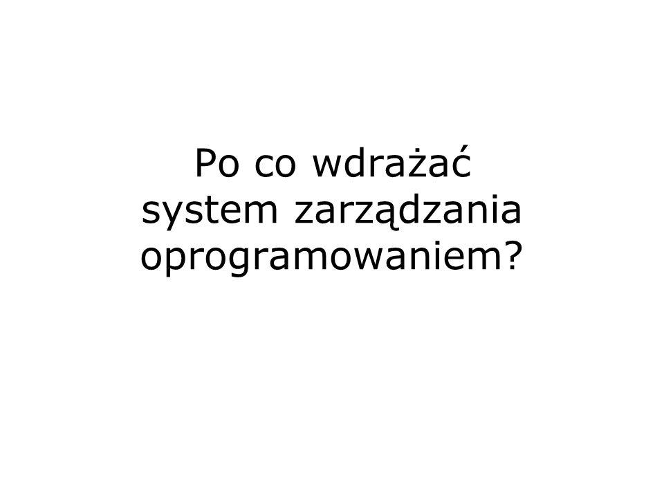 Po co wdrażać system zarządzania oprogramowaniem