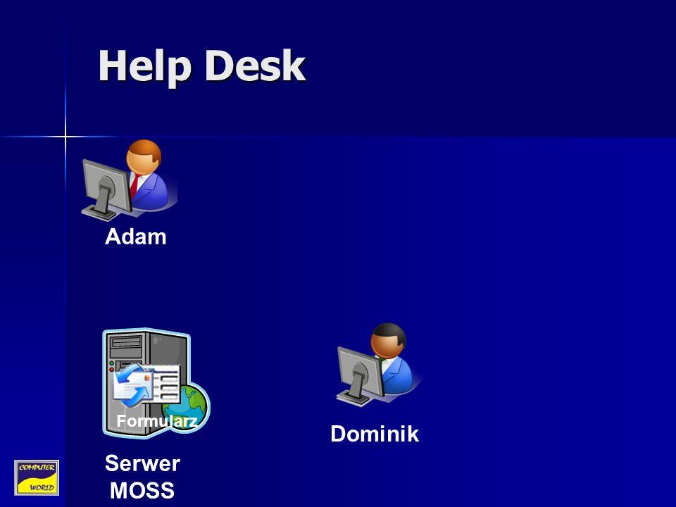 Dominik Serwer MOSS Help Desk Formularz