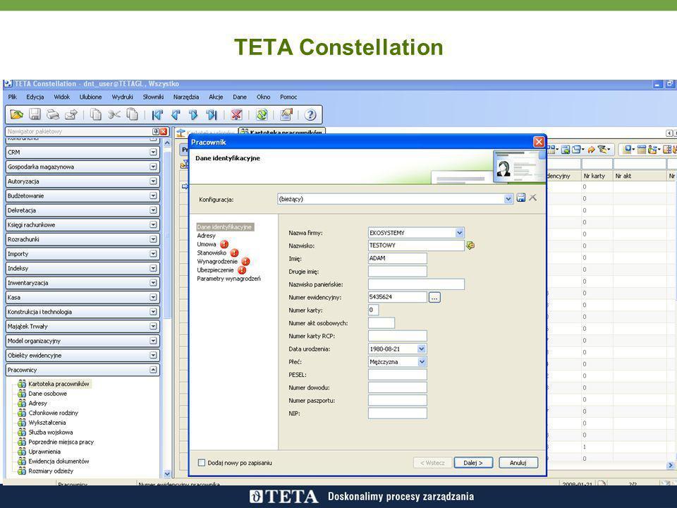 TETA Constellation Pobrany wycinek ekranu: 2008-01-21; 13:06 Pobrany wycinek ekranu: 2008-01-21; 13:13