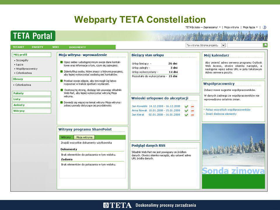 Webparty TETA Constellation