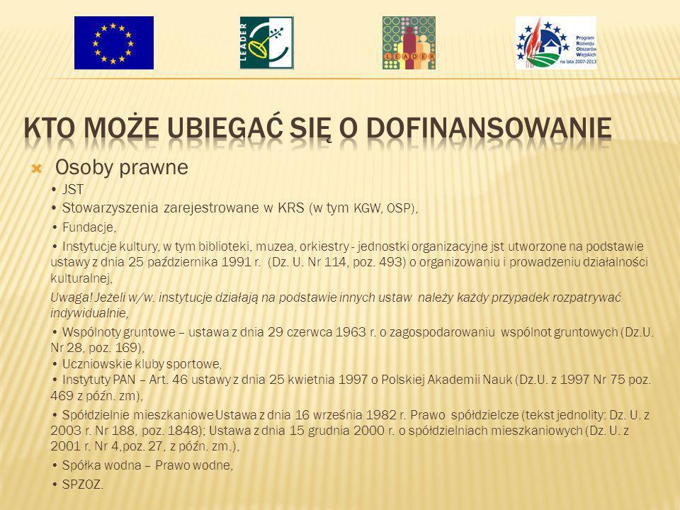 Dofinansowanie ma charakter refundacji – otrzymujemy środki po udokumentowaniu ich faktycznego wydatkowania, na podstawie złożonych wniosków o płatność – dostępne będą na stronach LGD i Urzędu Marszałkowskiego.