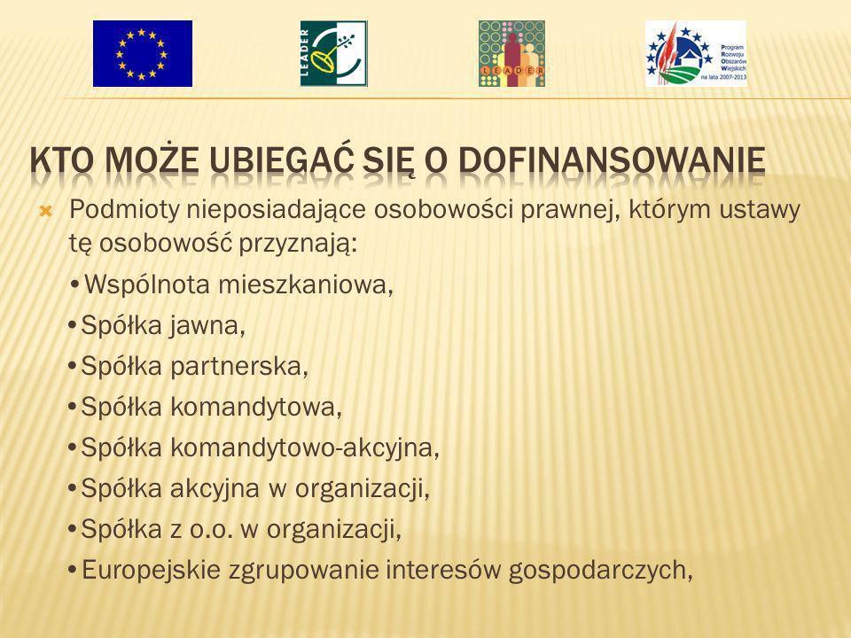 Operacje wpisujące się swoim zakresem w Program Rozwoju Obszarów Wiejskich Operacje określone w Załączniku nr 1 do Rozporządzenia Ministra Rolnictwa i Rozwoju Wsi z dnia 8 lipca 2008r.