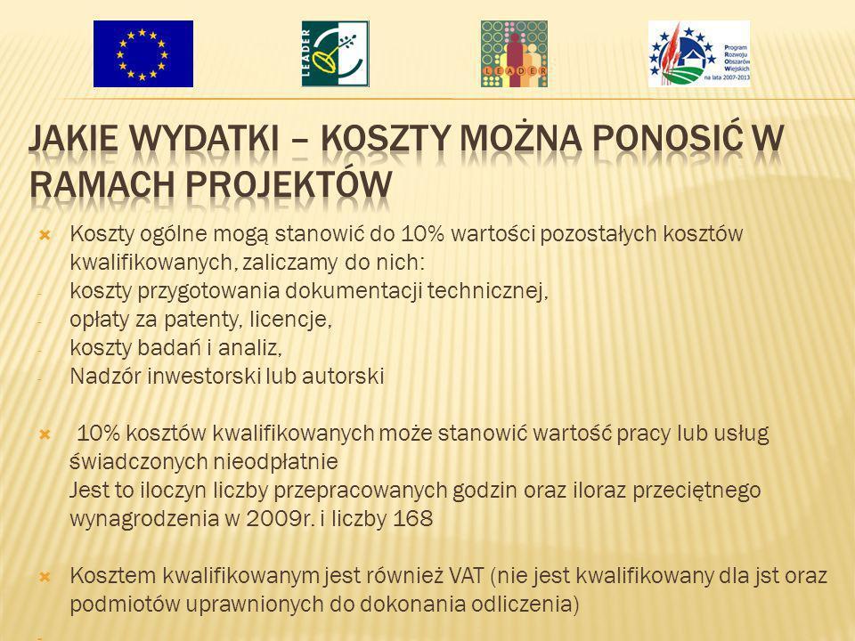 Termin konkursu: Wnioski można składać od 31 marca 2010r.