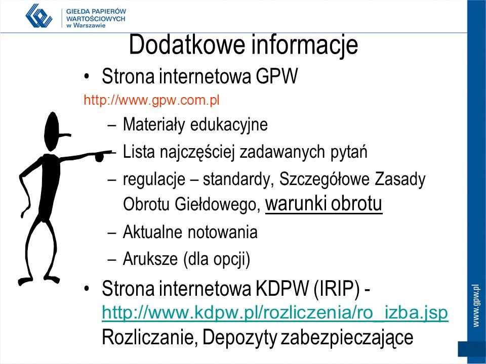 Największe błędy – ankieta futures.onet.pl Wyniki ankiety (łącznie odpowiedzi 376) 20.70% zbyt długie utrzymywanie stratnych pozycji 17.30% strach prz