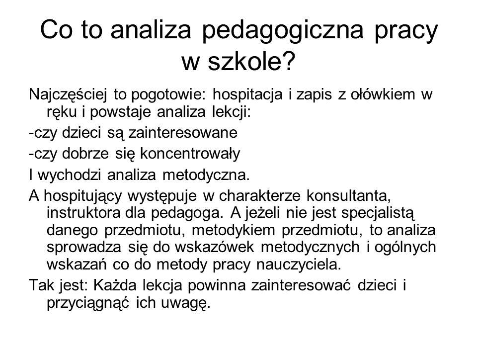 Co to znaczy analiza pod kątem pedagogiki lingwistycznej.