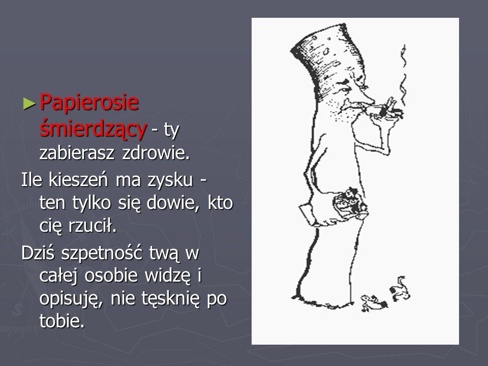 Nie przystawaj Nie przystawaj z palaczami - rzuć palenie i bądź z nami! z palaczami - rzuć palenie i bądź z nami!