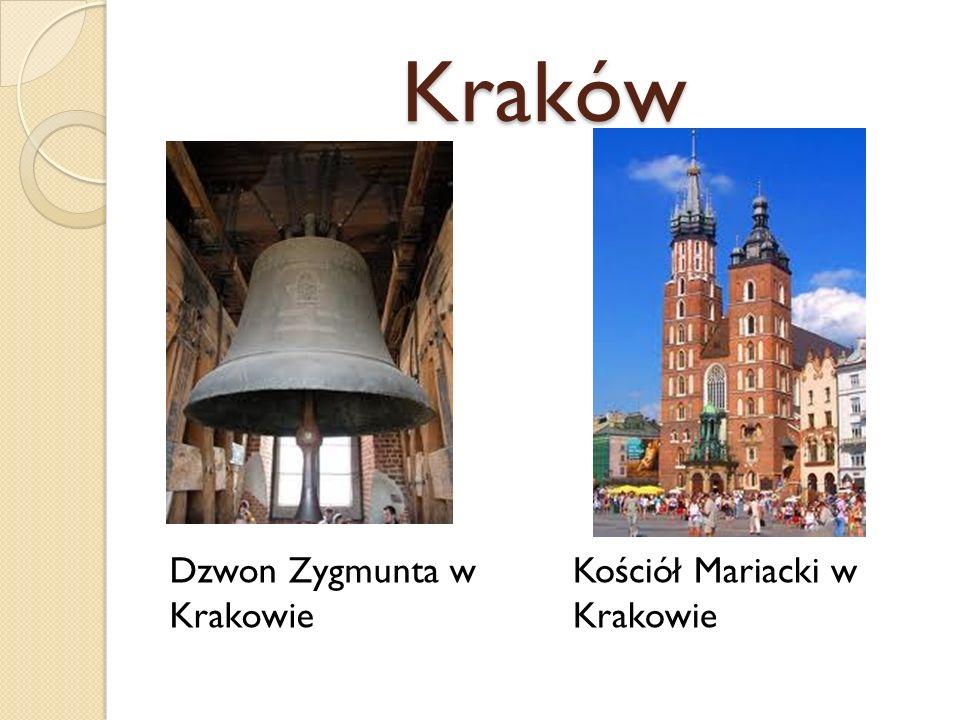 Kraków Dzwon Zygmunta w Krakowie Kościół Mariacki w Krakowie