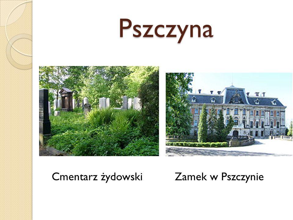 Pszczyna Cmentarz żydowskiZamek w Pszczynie