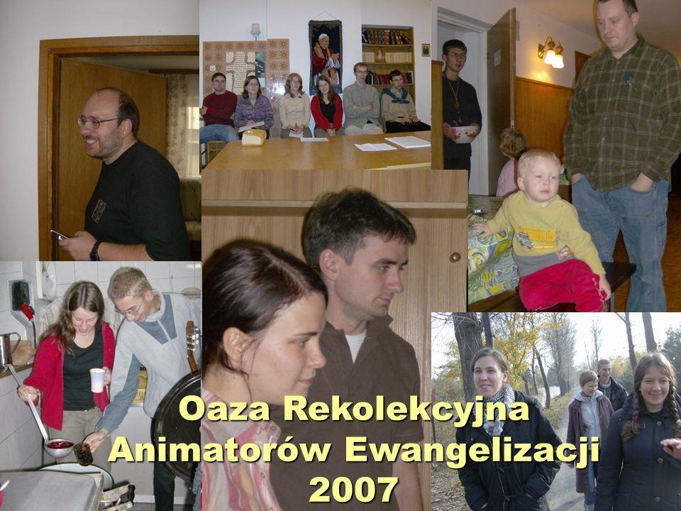 Animacja ewangelizacji prowadzonych przez Ruch Udział w wydarzeniach ewangelizacyjnych w diecezji Święto dziękczynienia.