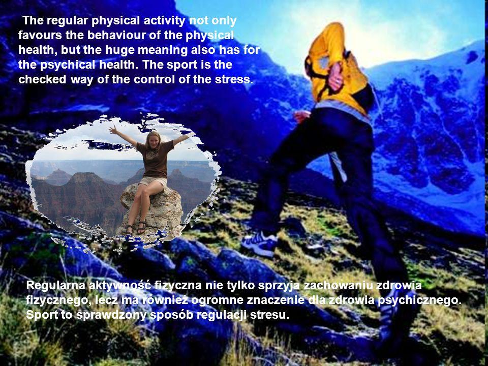 Regularna aktywność fizyczna nie tylko sprzyja zachowaniu zdrowia fizycznego, lecz ma również ogromne znaczenie dla zdrowia psychicznego. Sport to spr