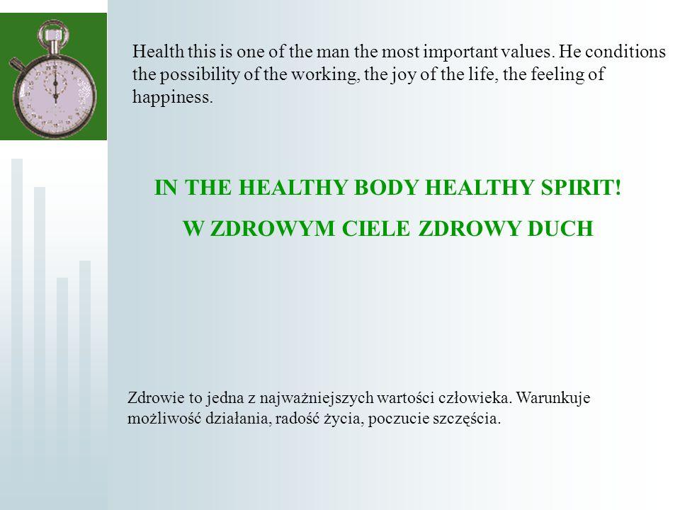 Na drodze ewolucji organizm człowieka został przystosowany do fizycznie aktywnego życia.