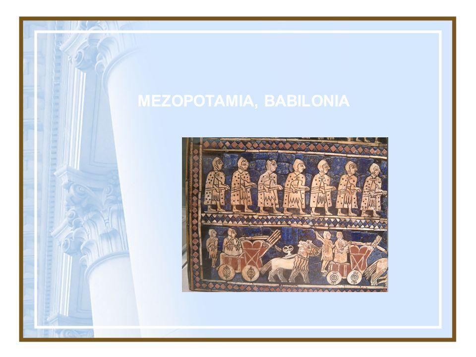 MEZOPOTAMIA, BABILONIA
