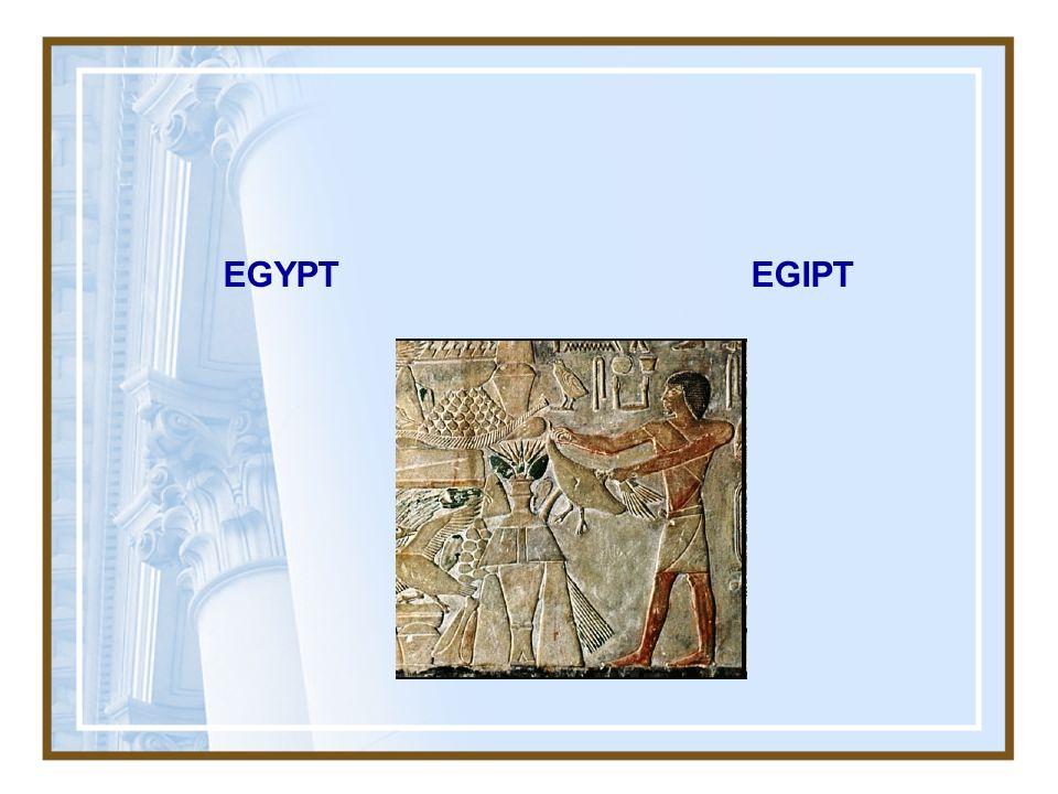 EGYPT EGIPT