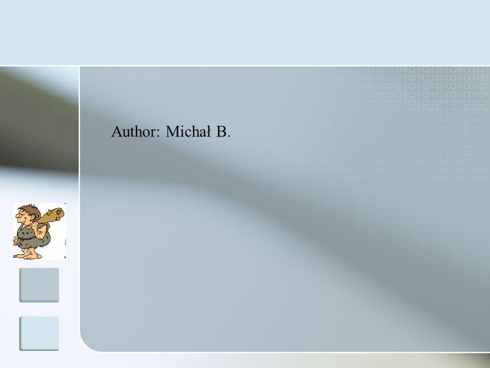 Author: Michał B.