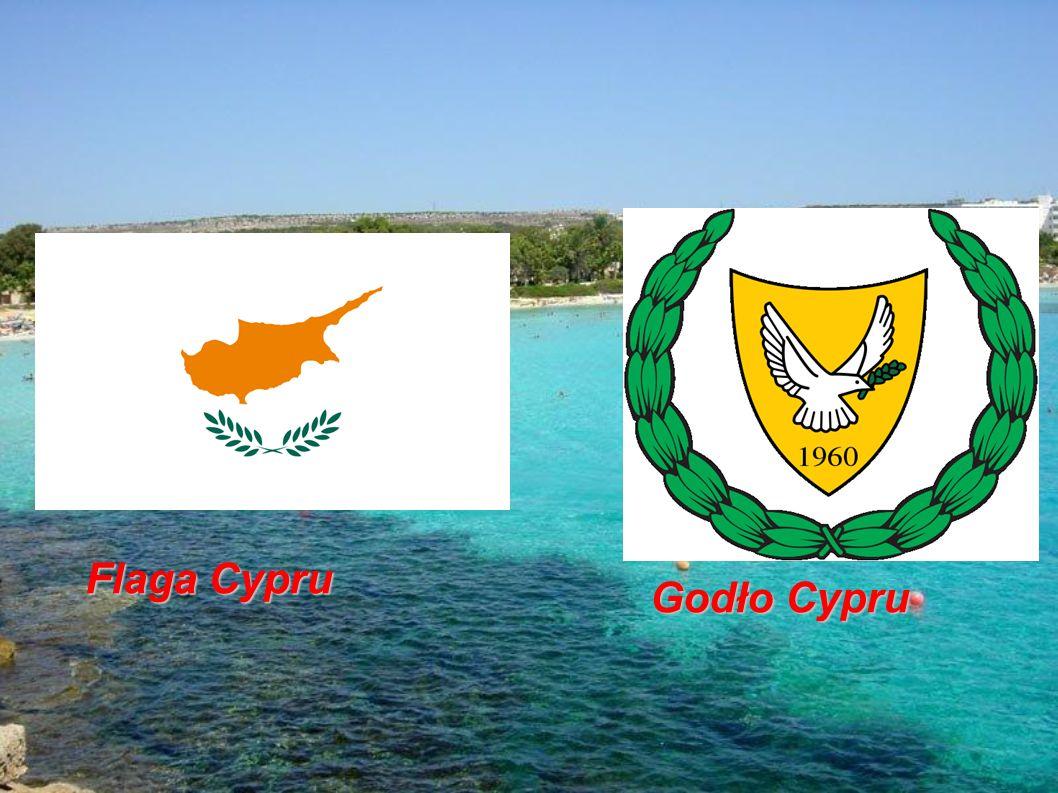 Flaga Cypru Godło Cypru