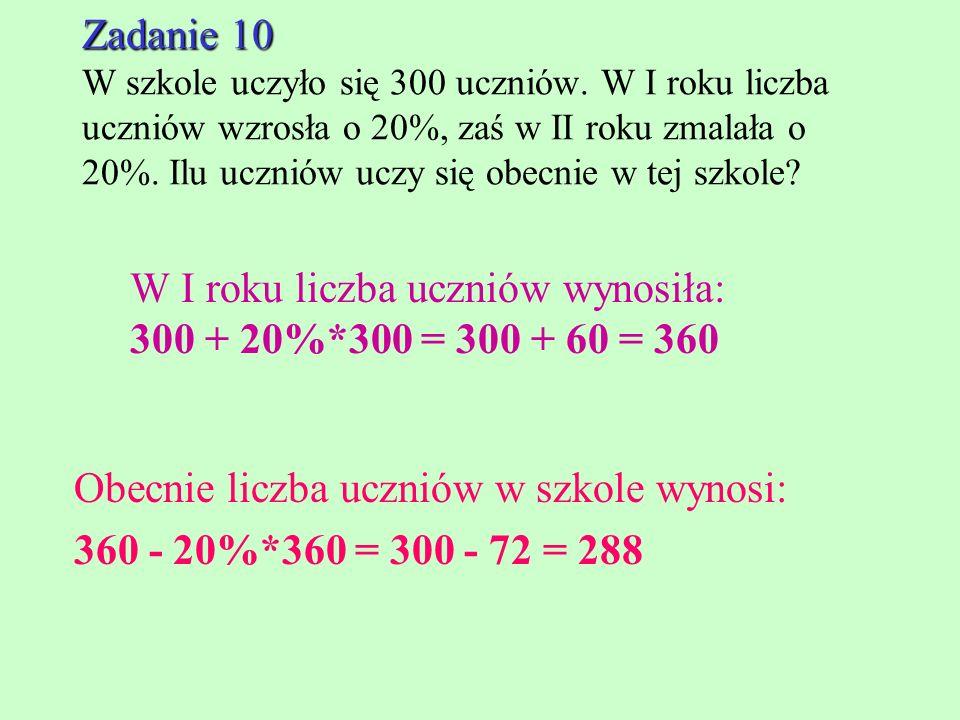 Zadanie 9 Zadanie 9 W pewnym jesiennym tygodniu w Łodzi w poniedziałek spadło 15 mm deszczu, we wtorek 25 mm, w środę 17 mm, w czwartek i piątek nie p
