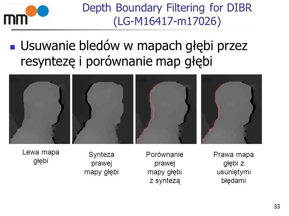 34 Depth Boundary Filtering for DIBR (LG-M16417-m17026) Przed Po