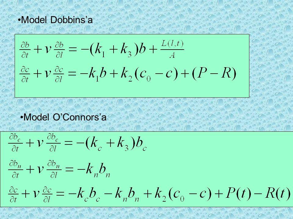 Model Dobbinsa Model OConnorsa
