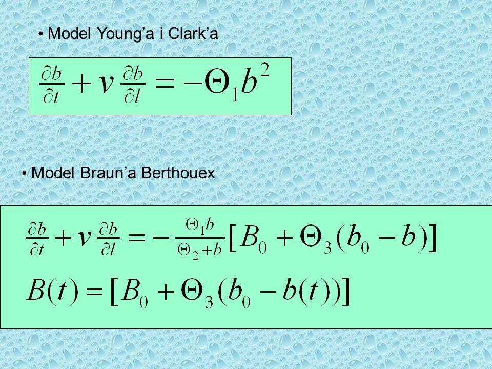 Model Brauna Berthouex Model Younga i Clarka