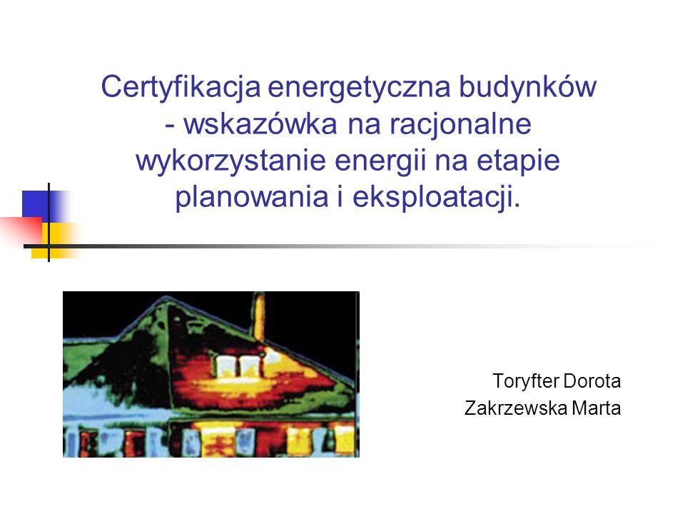 Podstawy prawne Dyrektywa Parlamentu Europejskiego i Rady Europy 2002/91/EC z dnia 16 grudnia 2002 roku ustanawia wymagania dotyczące: ram ogólnych metodologii obliczeń zintegrowanej charakterystyki energetycznej budynków zastosowania minimalnych wymagań dotyczących charakterystyki energetycznej nowych budynków zastosowania minimalnych wymagań dotyczących charakterystyki energetycznej dużych budynków istniejących, podlegających większej renowacji certyfikatu energetycznego budynków regularnej kontroli kotłów i systemów klimatyzacji w budynkach oraz dodatkowo ocena instalacji grzewczych, w których kotły mają więcej niż 15 lat