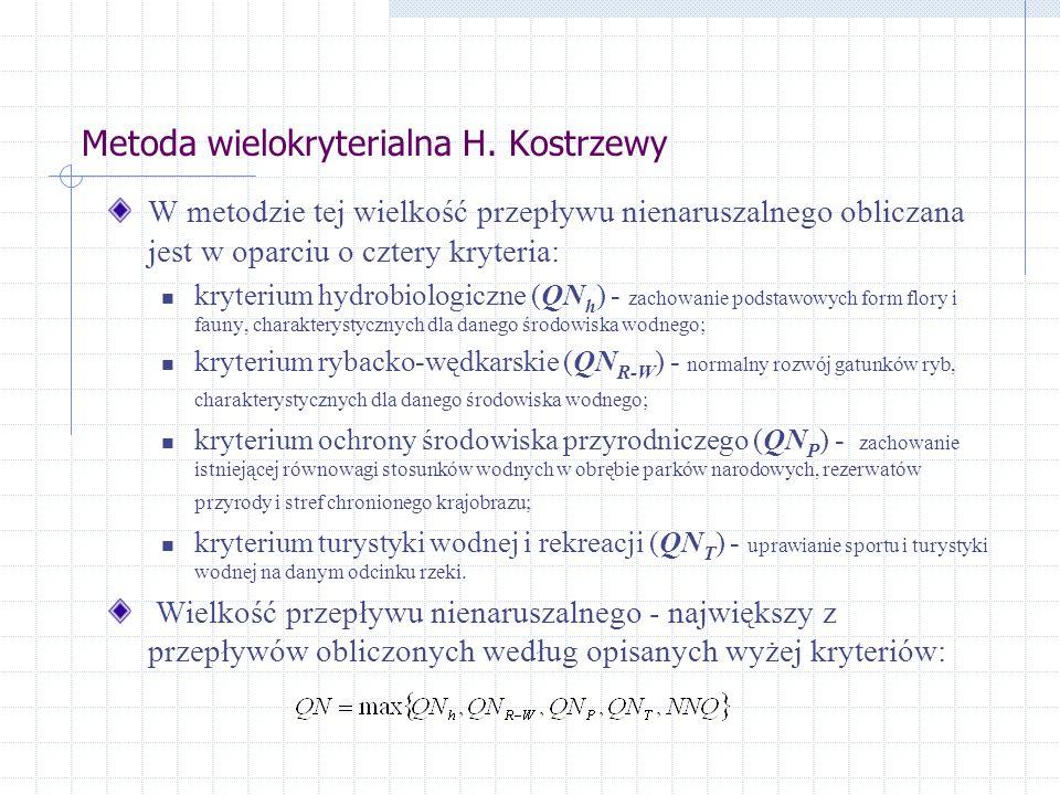 Metoda wielokryterialna H.