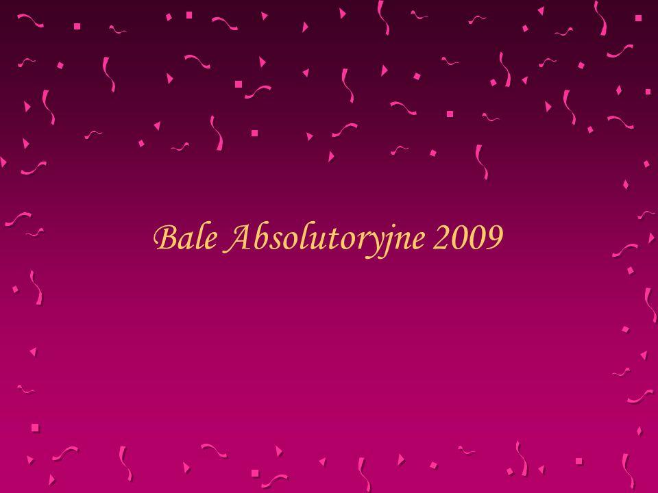 Bale Absolutoryjne 2009