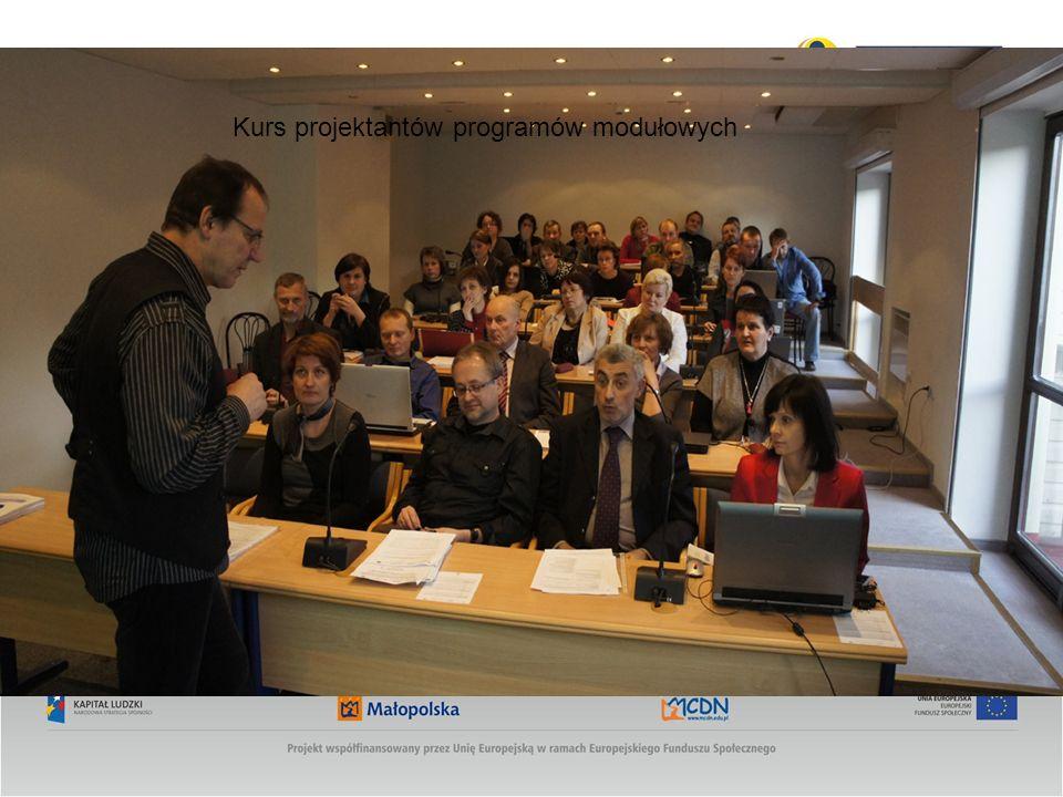 Kurs projektantów programów modułowych
