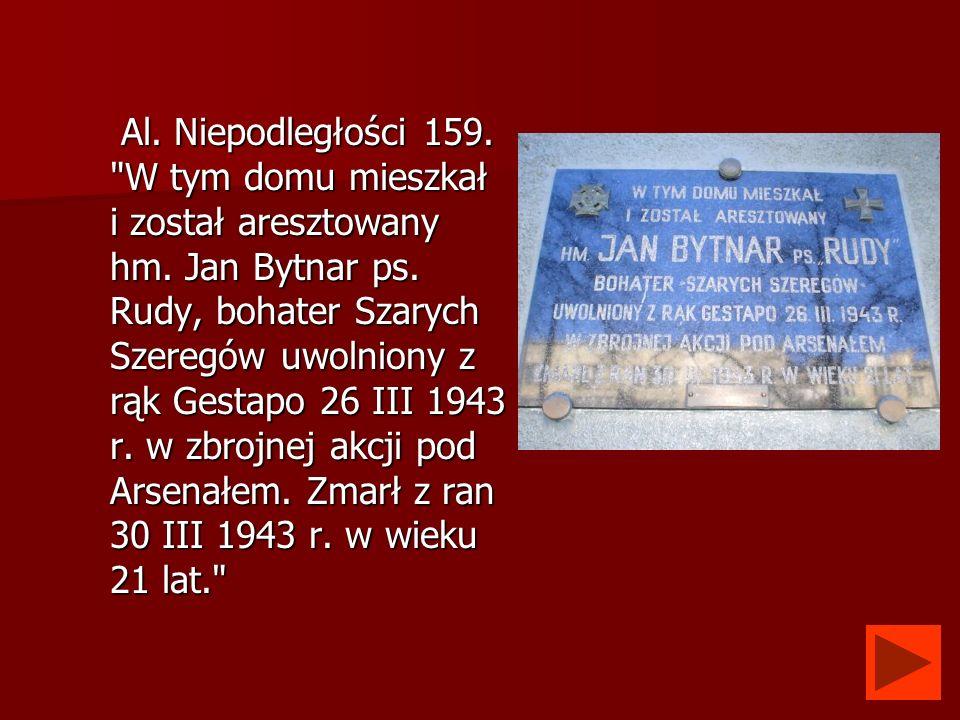 Al. Niepodległości 159.