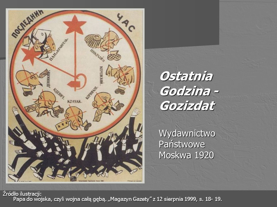 Żołnierze bolszewiccy (czerkiesi) Źródło ilustracji: Polaków dzieje malowane.