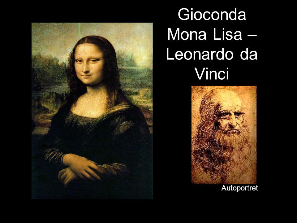 Gioconda Mona Lisa – Leonardo da Vinci Autoportret