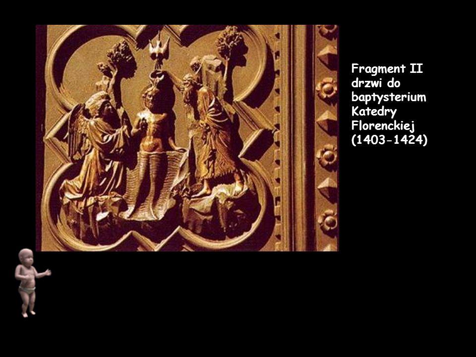 Fragment II drzwi do baptysterium Katedry Florenckiej (1403-1424)