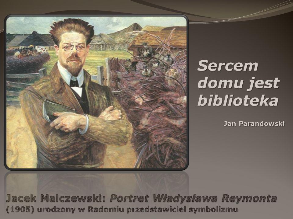Sercem domu jest biblioteka Jan Parandowski