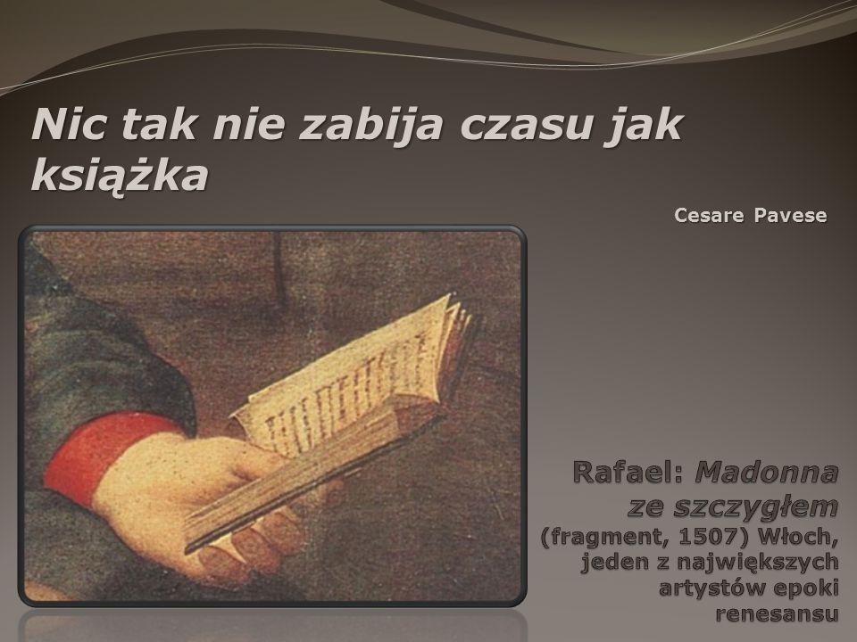 Nic tak nie zabija czasu jak książka Cesare Pavese