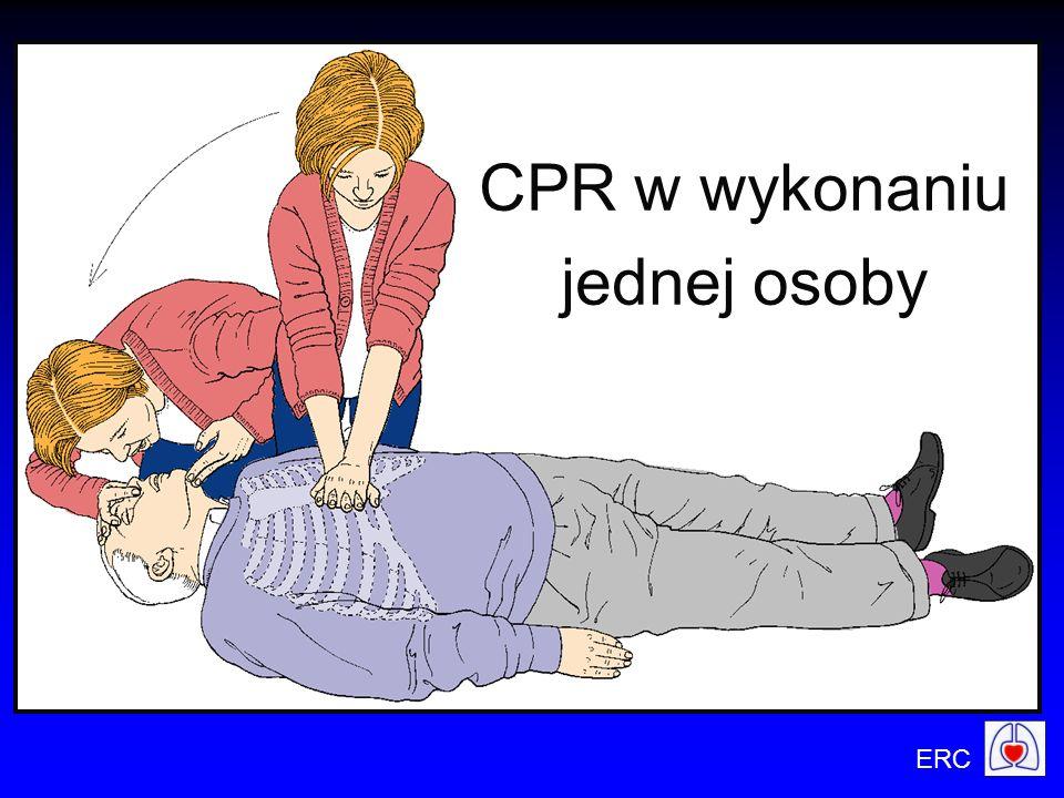 ERC CPR w wykonaniu jednej osoby