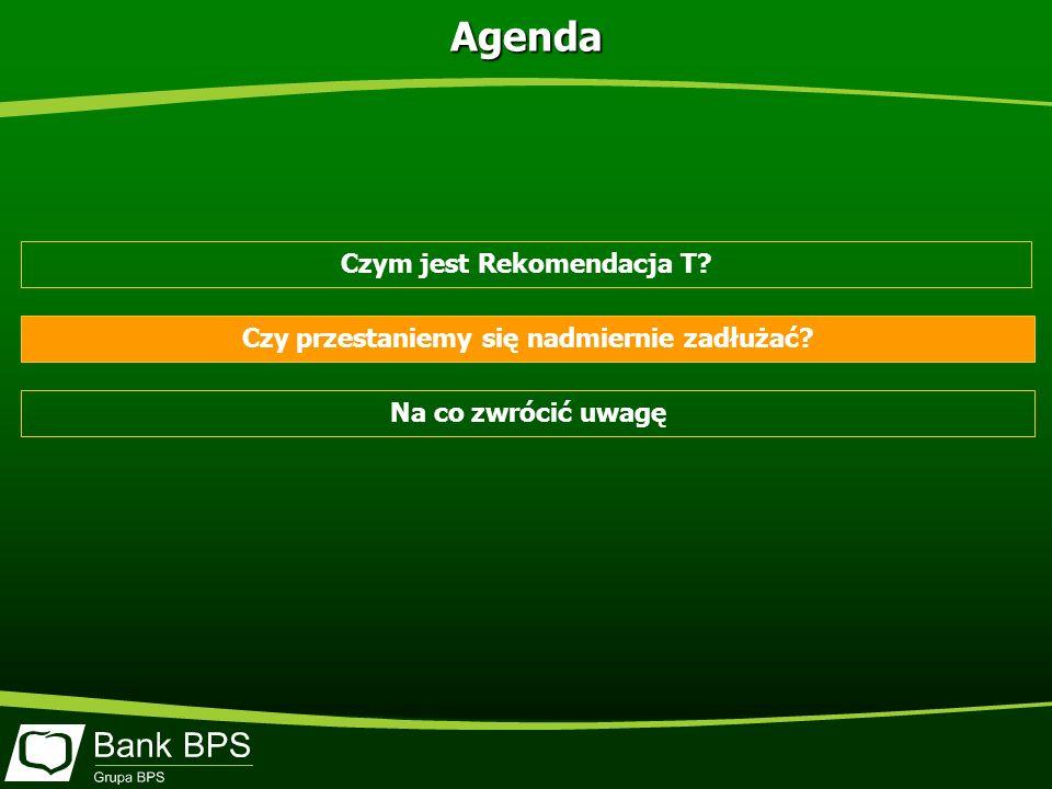 Czym jest Rekomendacja T? Czy przestaniemy się nadmiernie zadłużać? Na co zwrócić uwagę Agenda