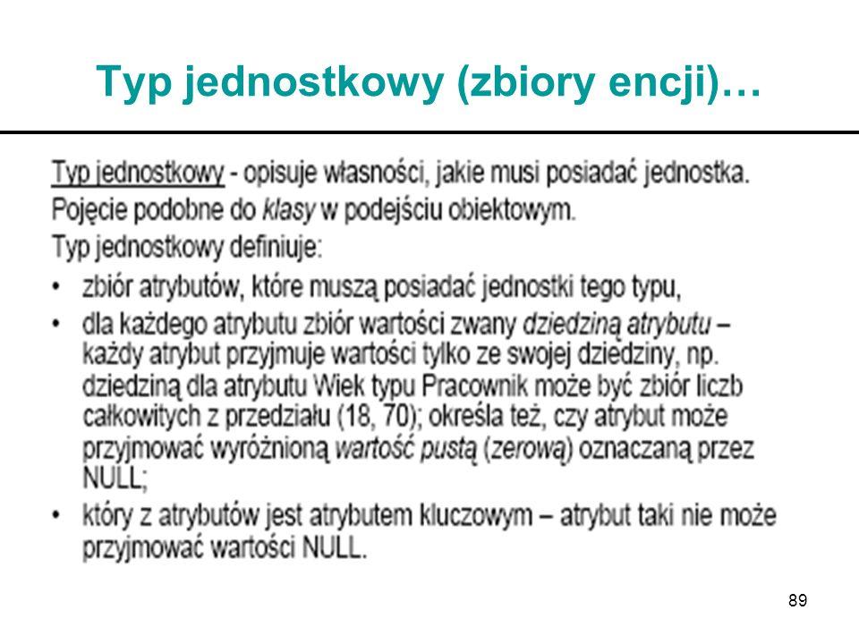 89 Typ jednostkowy (zbiory encji)…