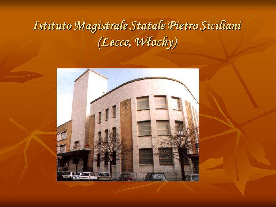 Istituto Magistrale Statale Pietro Siciliani (Lecce, Włochy)