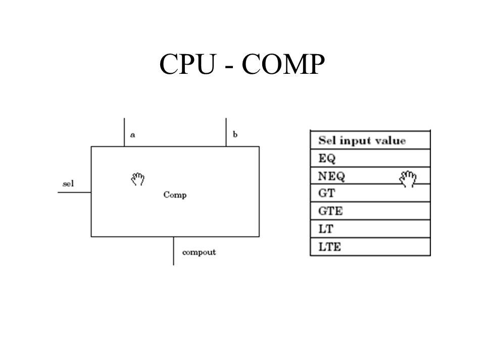 CPU - COMP