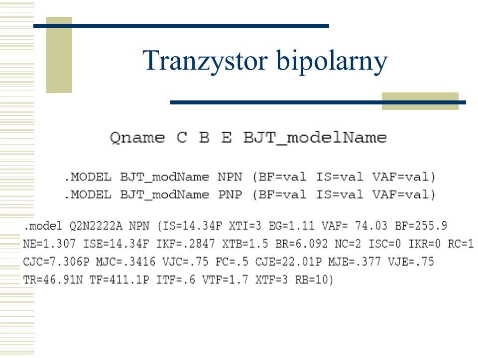 Tranzystor bipolarny