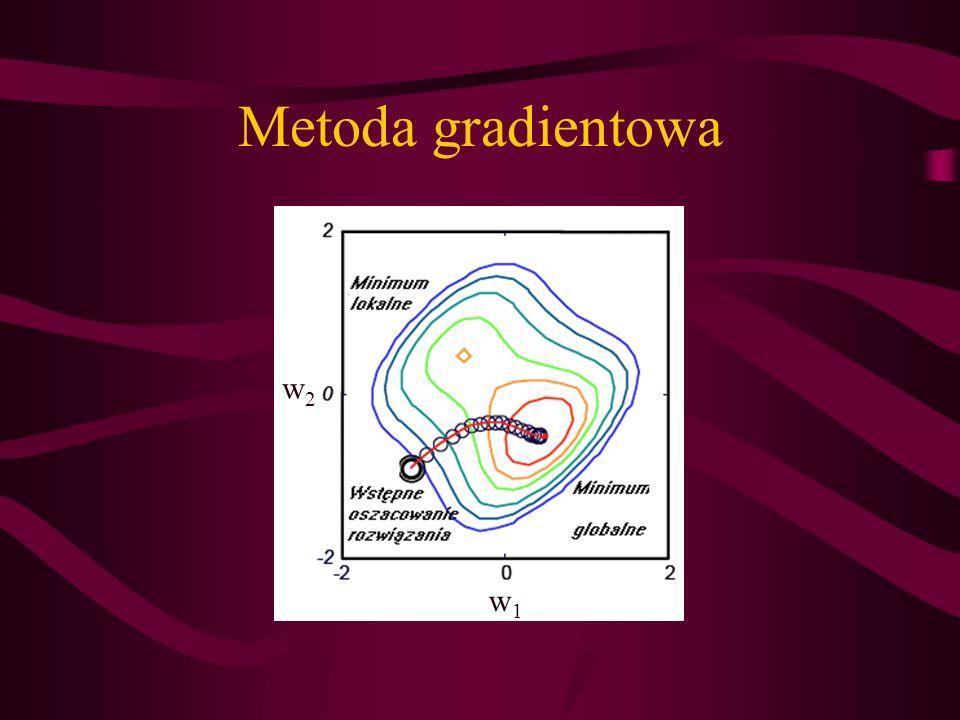 Metoda gradientowa w2w2 w1w1