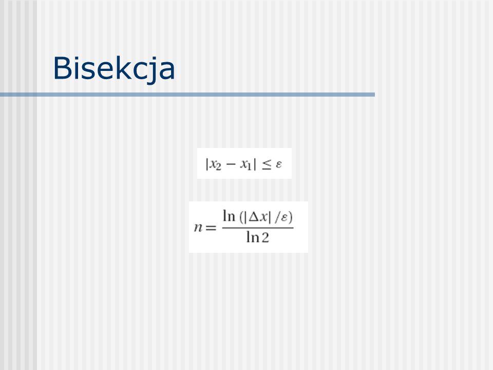 Bisekcja