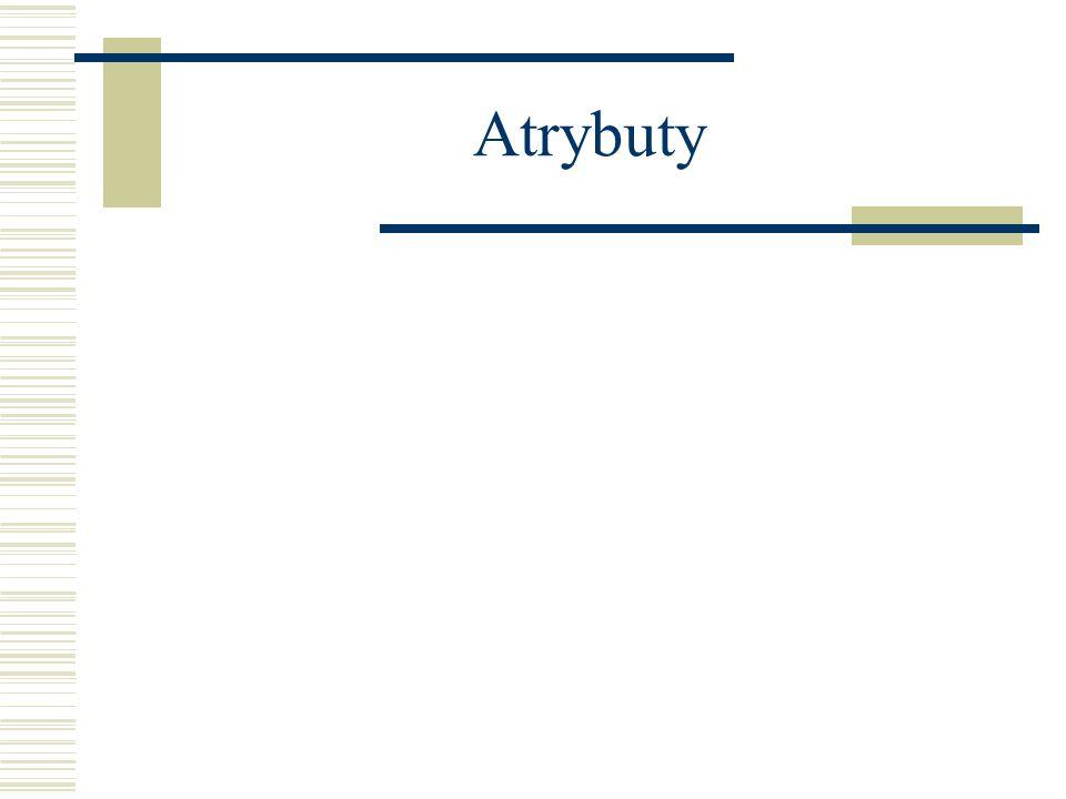Atrybuty