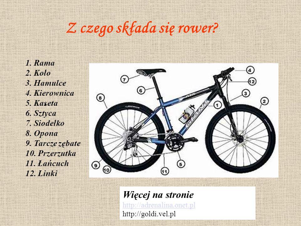 Rodzaje rowerów Informacje na stronie http://www.ar.wroc.pl http://www.fck.boo.pl