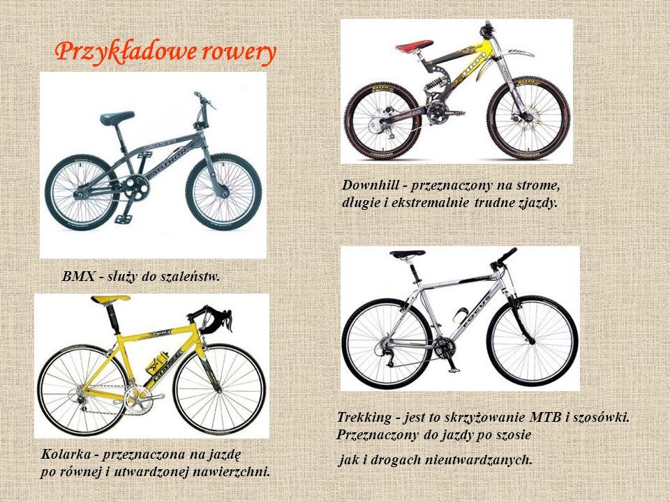 Przygotowanie roweru do jazdy 1.Siodełko Wysokość siodełka powinna być taka, aby, siedząc na nim mógł swobodnie oprzeć piętę na pedale w najniższym położeniu.
