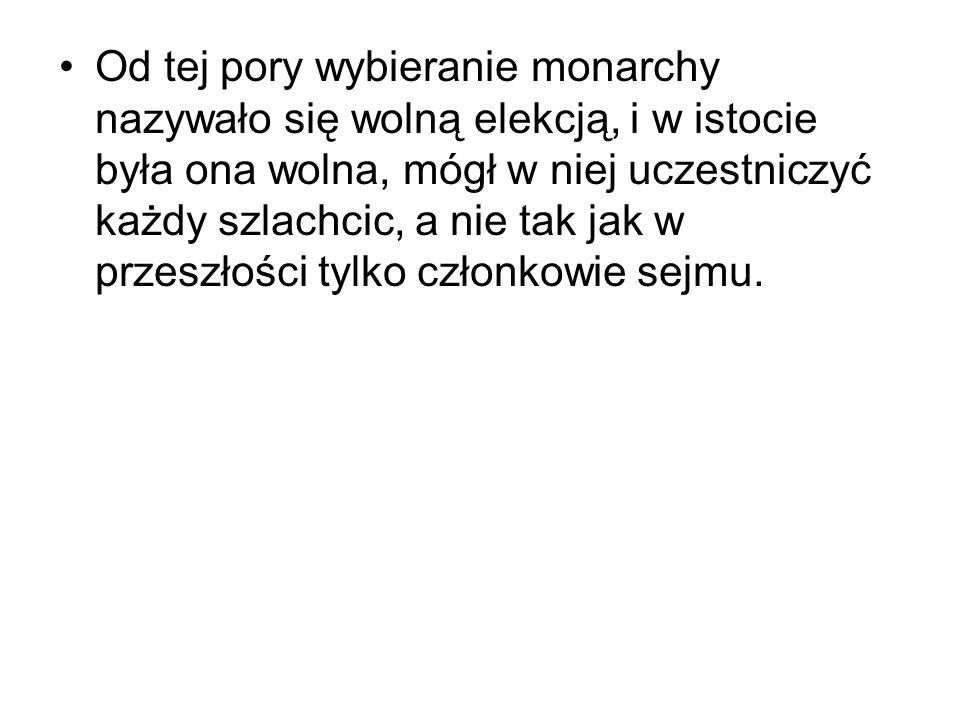 Organizacja i funkcjonowanie Dopiero w artykułach henrykowskich sprecyzowano na piśmie zasady działania Sejmu.