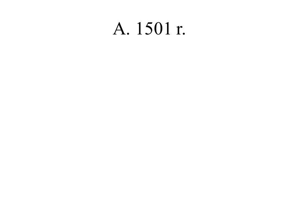 A. 1501 r.