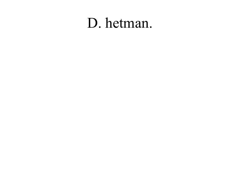 D. hetman.