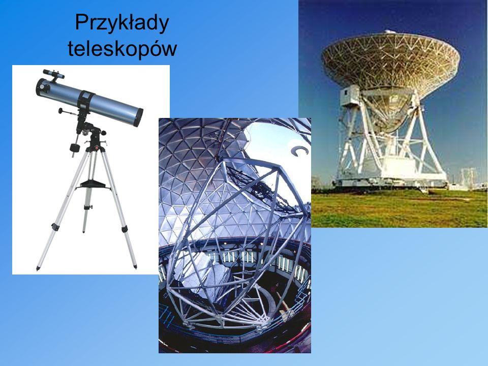 Przykłady teleskopów