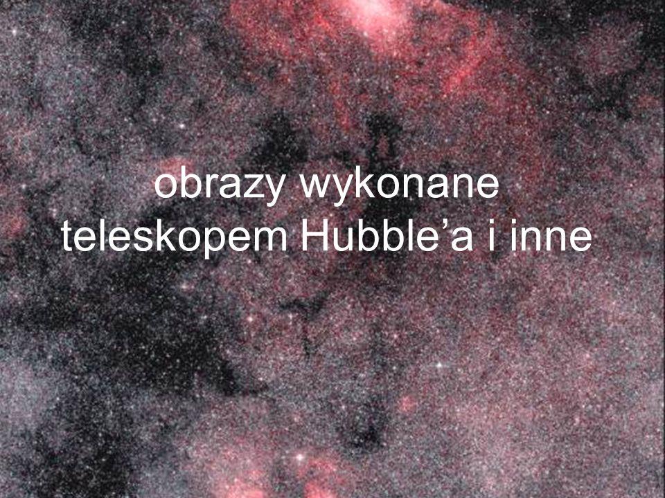 obrazy wykonane teleskopem Hubblea i inne